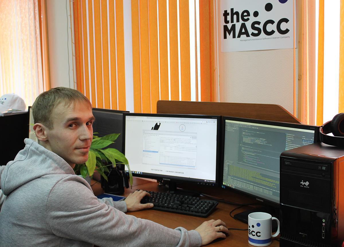Картинка Angular разработчиков The MASCC
