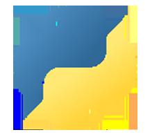 Логотип Python. The MASCC