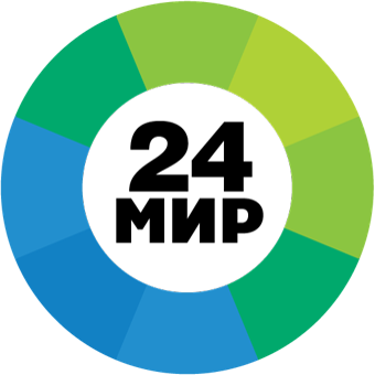 Mir 24 логотип
